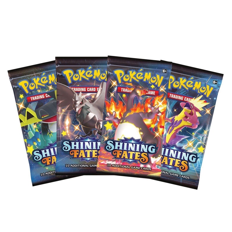 1 Pack Pokemon TCG Shining fates Booster Pack