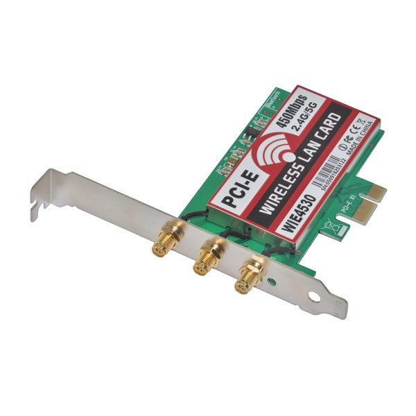 802 11 b/g/n 450Mbps Wireless WiFi PCI-Express Adapter Desktop Card for  Intel