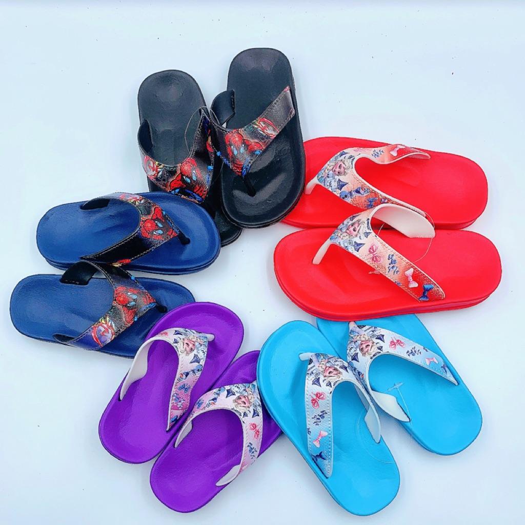 Children Flip Flop Slippers With Cartoon Design  Shopee -2316