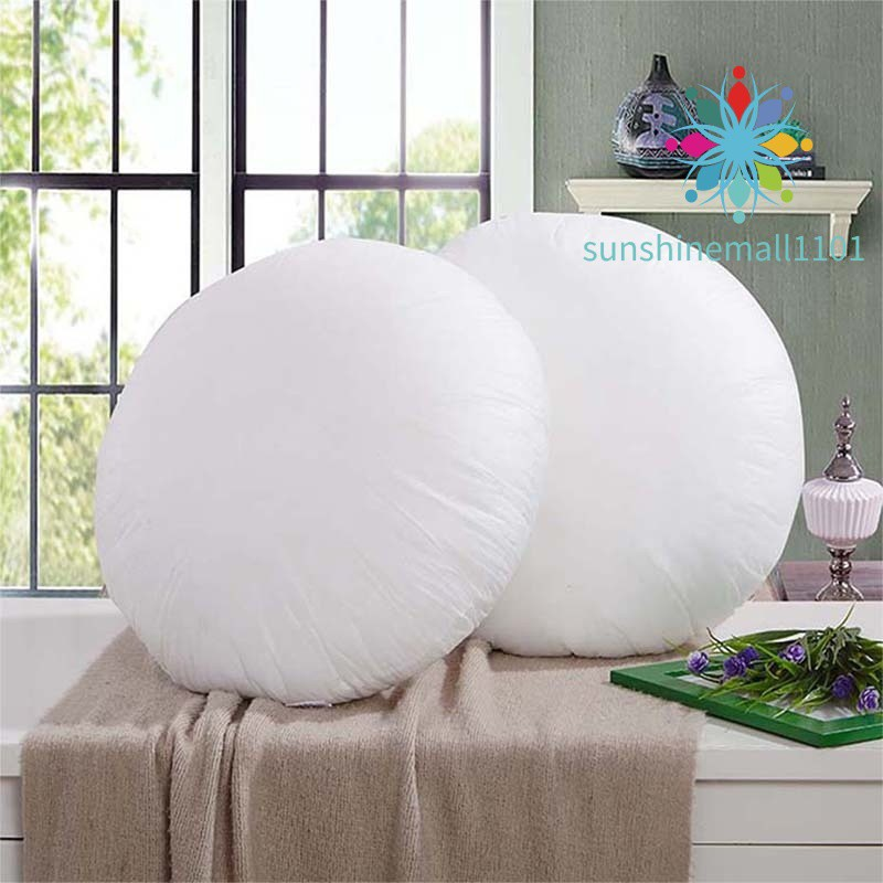 Non Woven Fabrics Throw Pillow Inner Core Round For Cushions