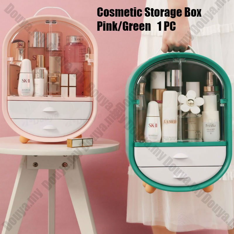 High Capacity Makeup Storage Box Bottle