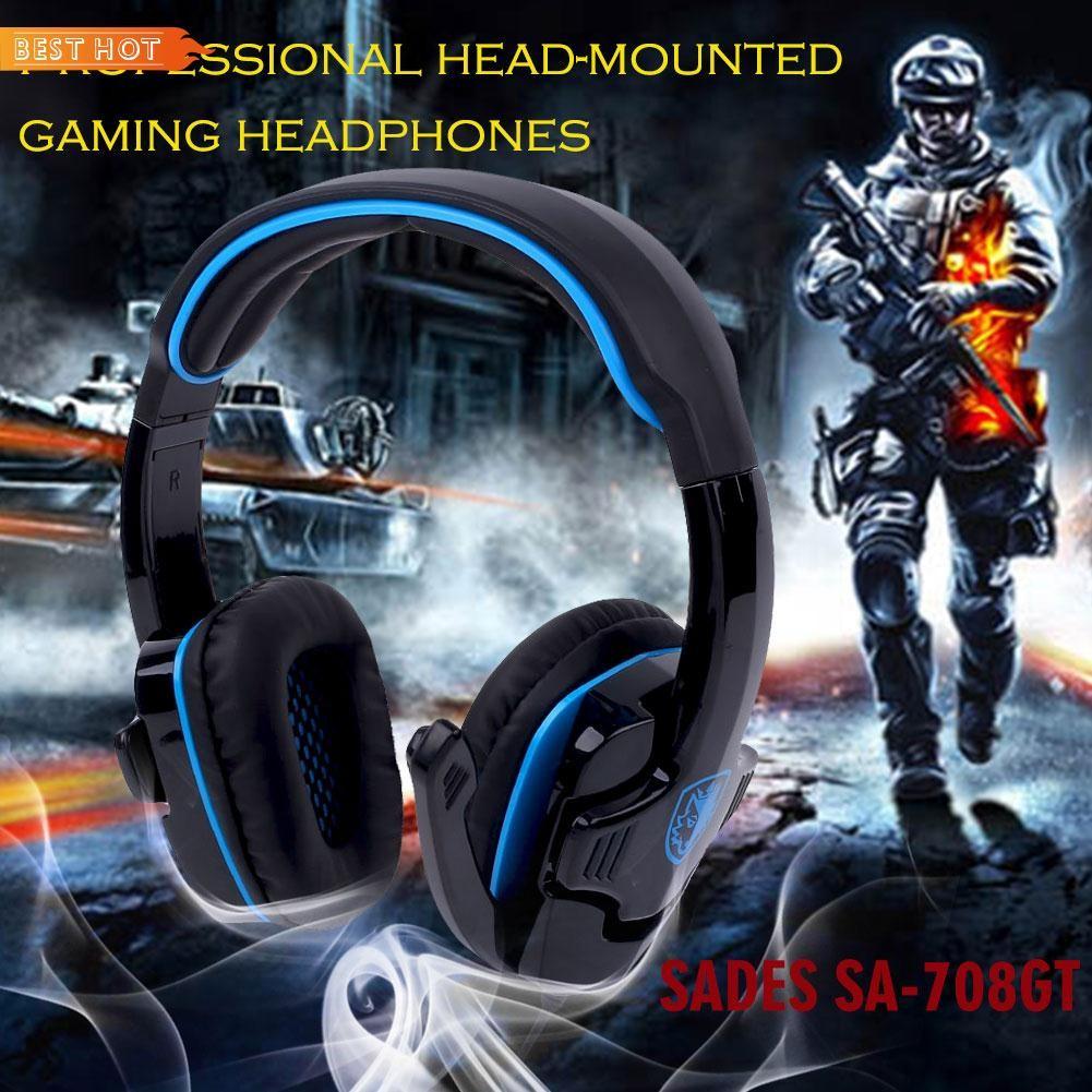 Sades T Power Gaming Headphone With Mic Shopee Singapore Headset Tpower Sa 701