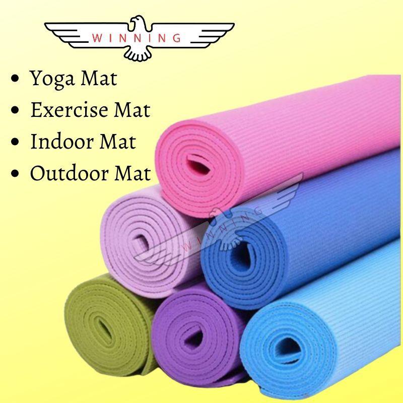 Yoga Mat Exercise Mat | Shopee Singapore