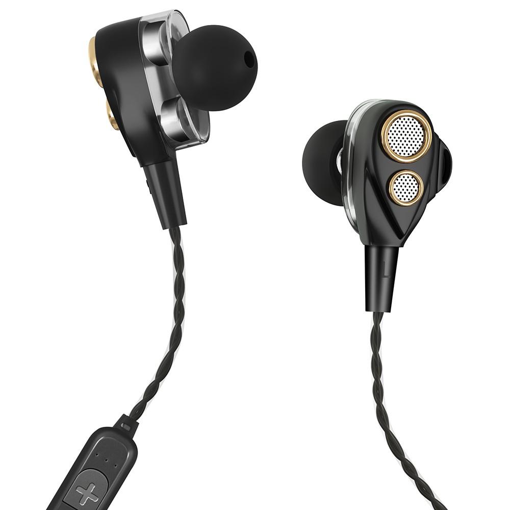 6D Dynamic Double Driver Wireless Bluetooth V4 1 In-ear
