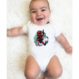 Baby Ride A Unicorn Infant Baby Sleeveless Bodysuit Romper Footies & Rompers