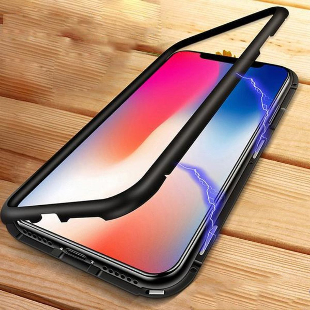 Wk Design Magnetic Tempered Glass Back Iphone Case Shopee Singapore 2in1 Gravity Full Cover For 6 Plus