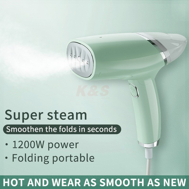 Image result for 【SG Stock warranty】 Garment Steamer Handheld steam iron portable steamer electric iron Mini iron
