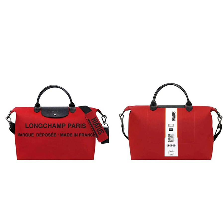 c6075b680749 Longchamp Le Pliage Neo 1515 Medium - Red Horse