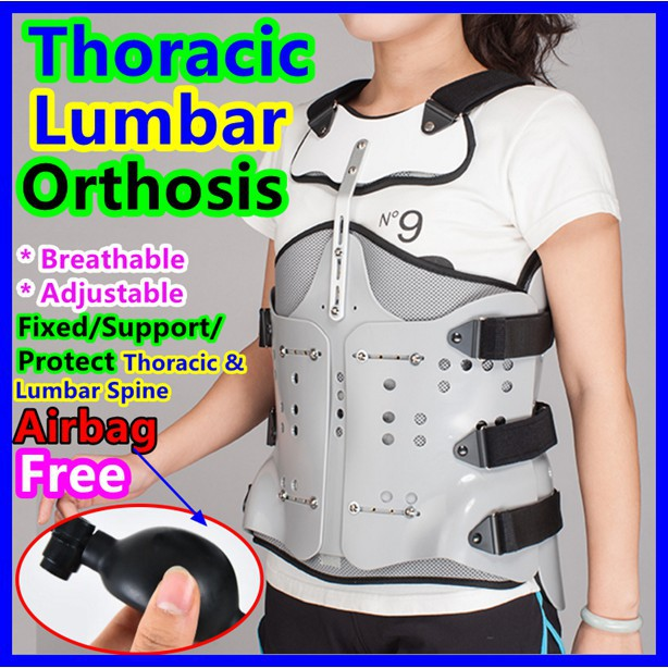 Thoracic Lumbar Orthosis Fixation Brace Back Waist Fracture Support Lumbar  Disc