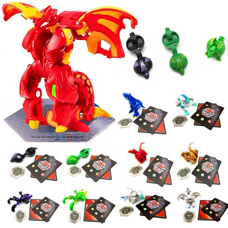 Bakugan Battle Brawlers Metal Fusion Met Monster Ball Gyro Action Figure Toys