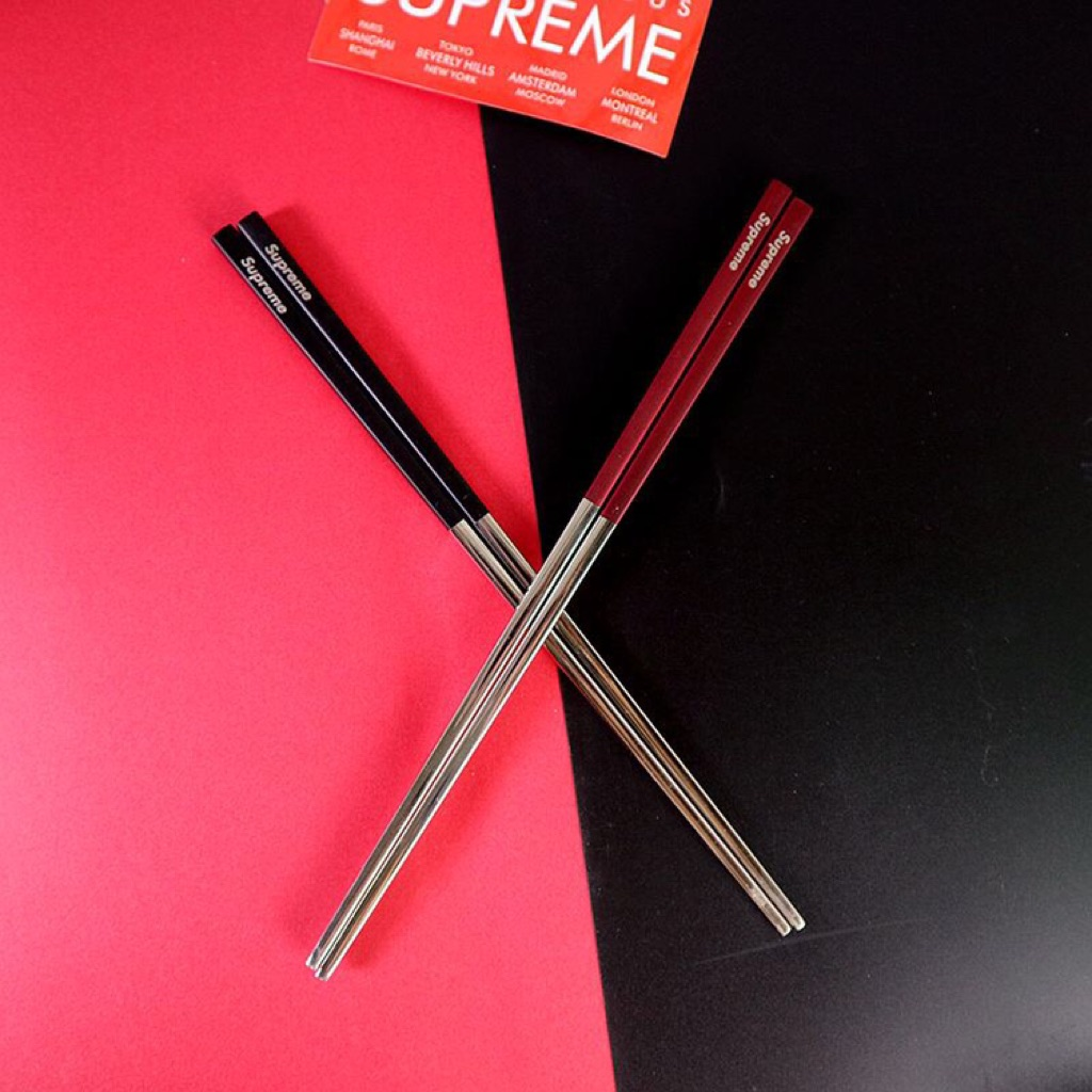 Supreme Stainless Steel Chopsticks | Shopee Singapore