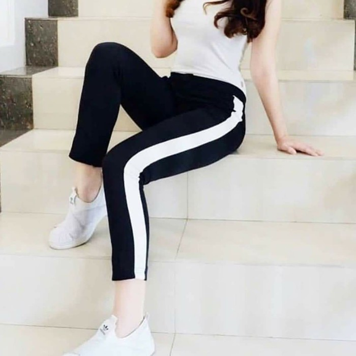 Celana Legging List Pants Original Shopee Singapore