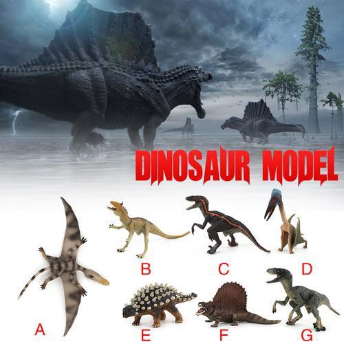 Kids Simulation Animal Model Dinosaur Hartzco Pterosaur Raptor Toy Decor Gift