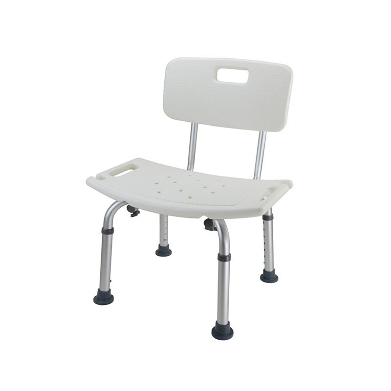 Aluminum Bath Stool Shower Bench The Elderly Women Bathroom Shower Stool Chair