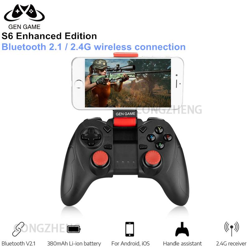 Gen Game S6 Wireless Bluetooth Gamepad Controller for