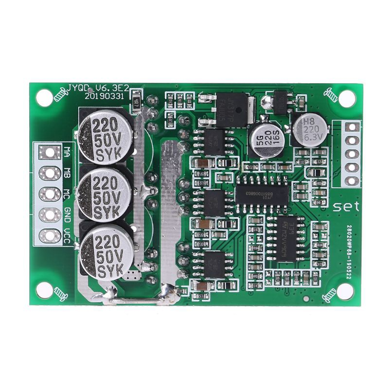 DC 12V-36 500W Brushless Motor PWM Control Controller Balanced BLDC Driver Board