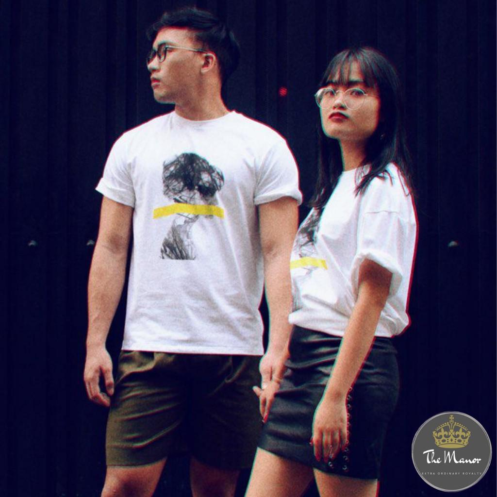 422f7148 'Light Bulb Man' Streetwear Unisex Oversized Graphic Tshirt | Shopee  Singapore
