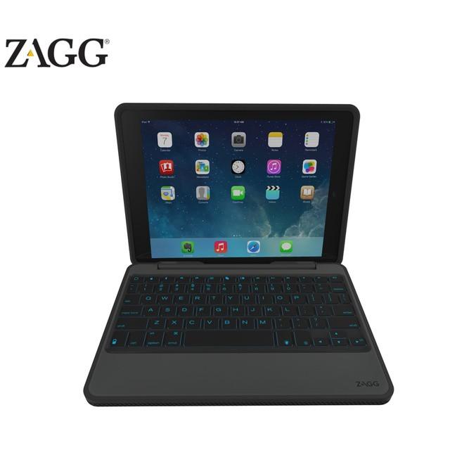 Zagg Ipad Air 2 Rugged Book And Keyboard Id6rgk Bbu Black
