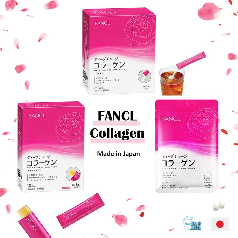 FANCL (JAPAN) Deep Charge Collagen | Shopee Singapore