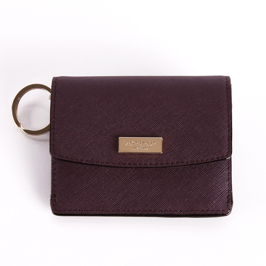Kate Spade Petty Laurel Way Mini Wallet with Key Ring WLRU2728 ...
