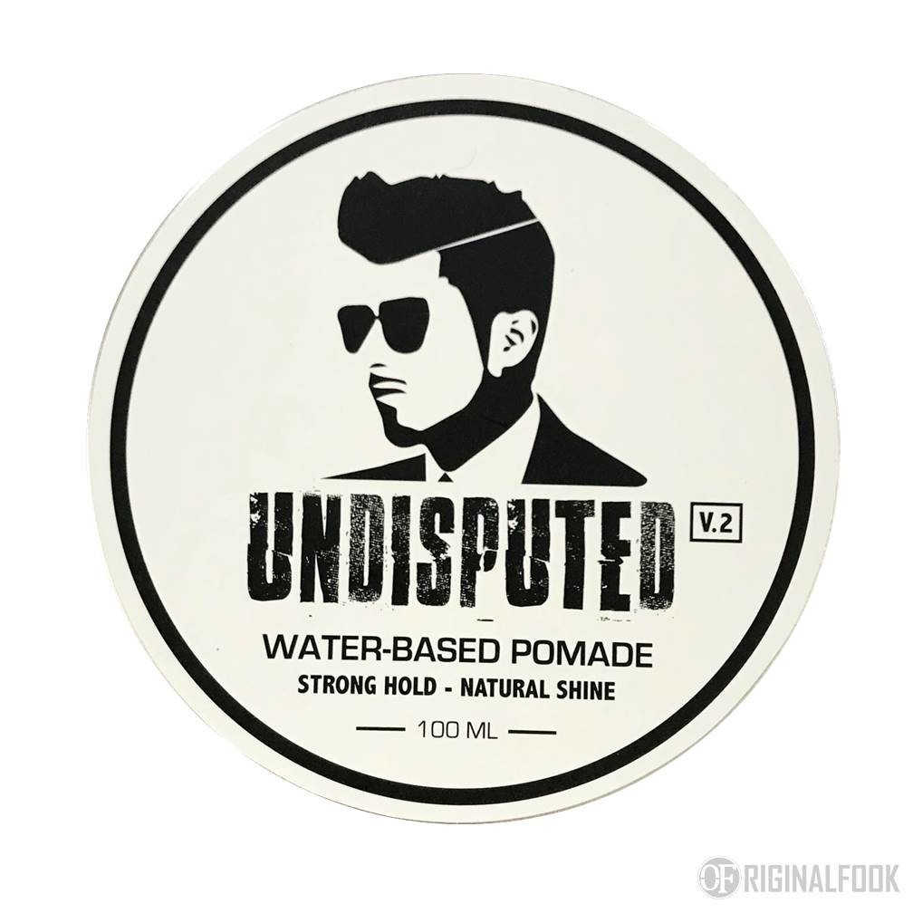 UNDISPUTED Strong Hold Water Based Pomade ...