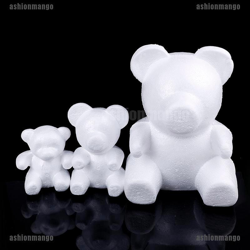 15cm//20cm//33cm Foam Bear Mold DIY Artificials Flowers Rose Gifts Bear Mold Birth