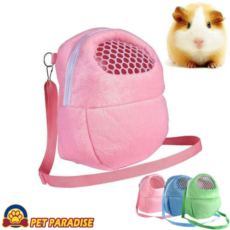 Portable Cute Pet Hamster Chinchilla  Bags Cages Guinea Pig Carry Bag Breathable