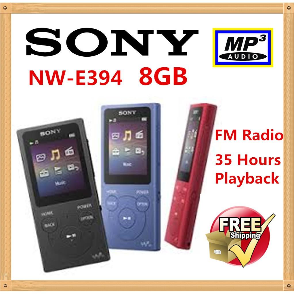 sony nwz-b183f 4gb mp3 player (blue 1.7 display)