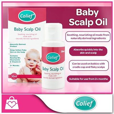 51af544d3 Colief Baby Scalp Oil 30ml | Shopee Singapore
