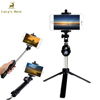 09ad8b9be80848 Extendable Selfie Stick Tripod Remote Bluetooth Shutter For IPhone X 8 Plus