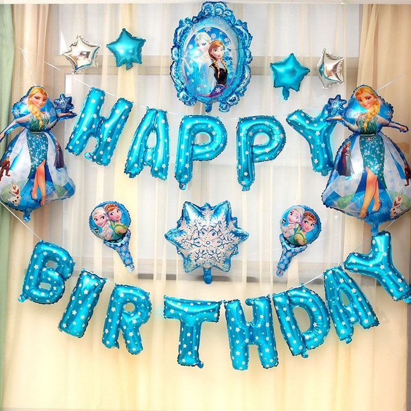 Frozen Elsa 7th seventh Birthday Turquoise Tutu Outfit Girl Head-bow