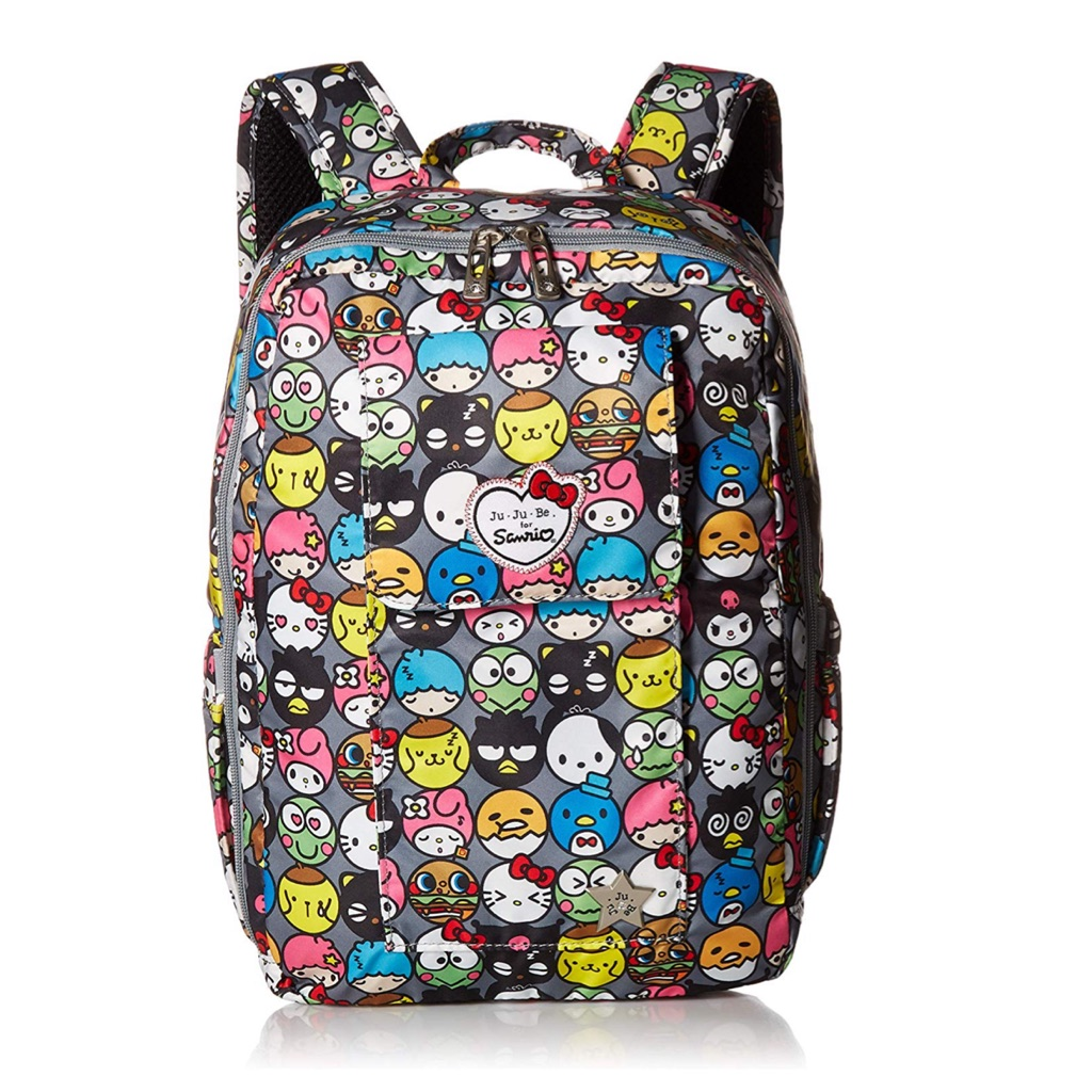 e9ef25ea05b1 Authentic!Ju-Ju-Be Hello Kitty Collection Be Right Back Diaper Bag ...