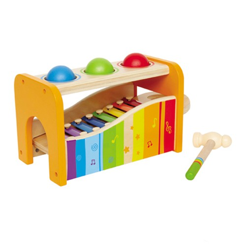 Hape - Early Melodies Pound And Tap Bench