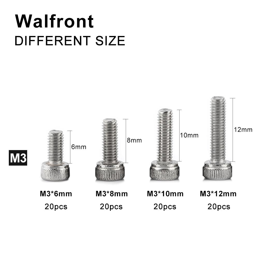 Pack of 30 M3*8mm M3 Metric Torx Countersunk Flat Stainless Steel Screw Bolt