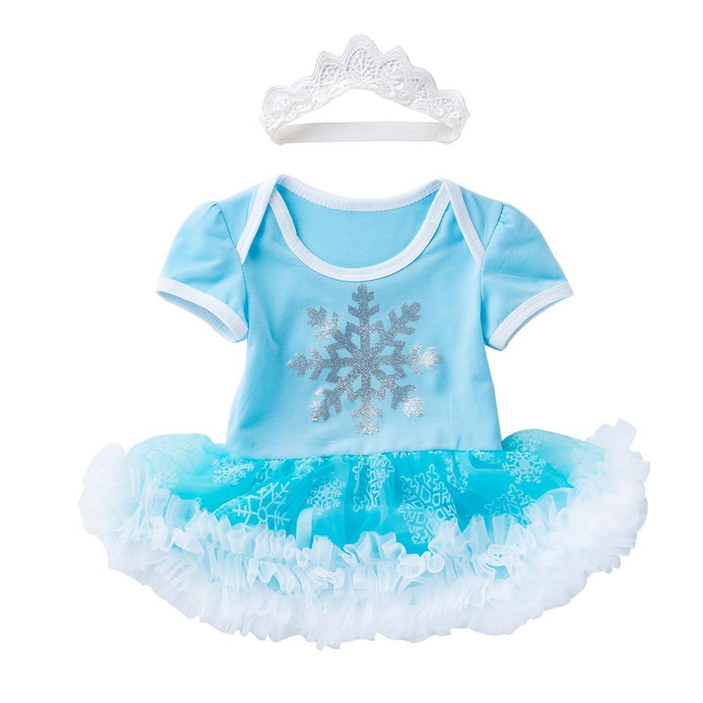 Frozen Anna Costume Baby Toddler Girl Birthday Tulle Dress Romper EXPRESS POST