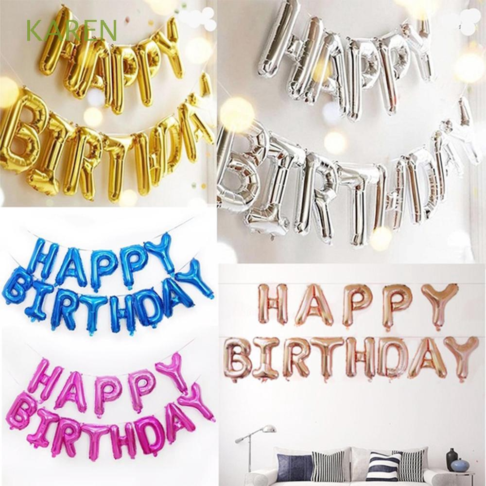 Baby Shower Letter Balloons.16inch Baby Shower Decoration Inflatable Toys Party Supplies