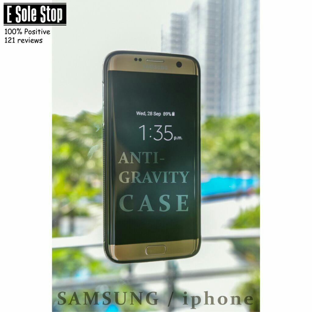 Anti-Gravity Phone Case Nano Tech Sticky Cover For iPhone 6plus/6splus White   Shopee Singapore
