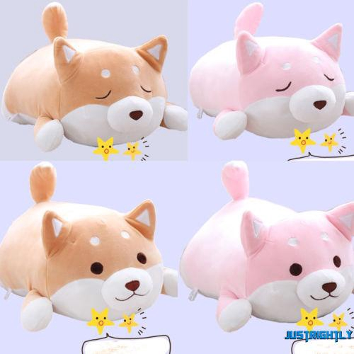 Anime Shiba Inu Dog Soft Stuffed Animal Toy Pillow Sofa Cushion Plush Doll Gift