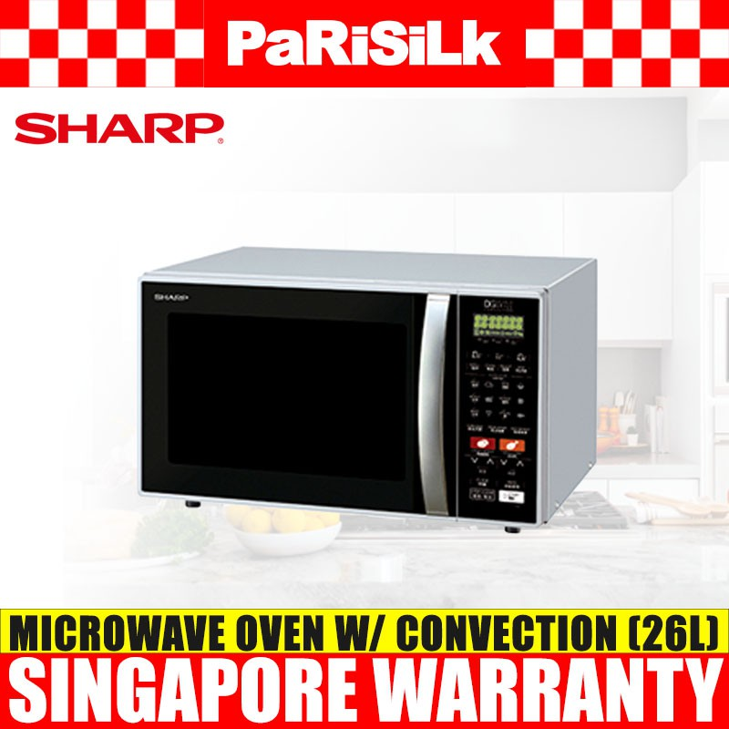 Sharp R 898c S Microwave Oven With