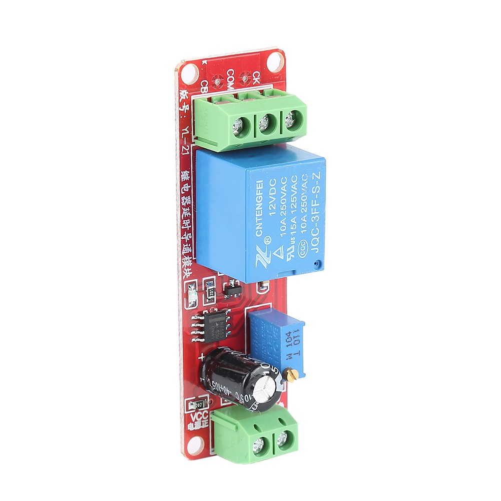 Ne555 12v Relay Delay Module Power Single Channel Timer Switch 0 10 1pcs Dc Turn On Off Secondtcsh Shopee Singapore