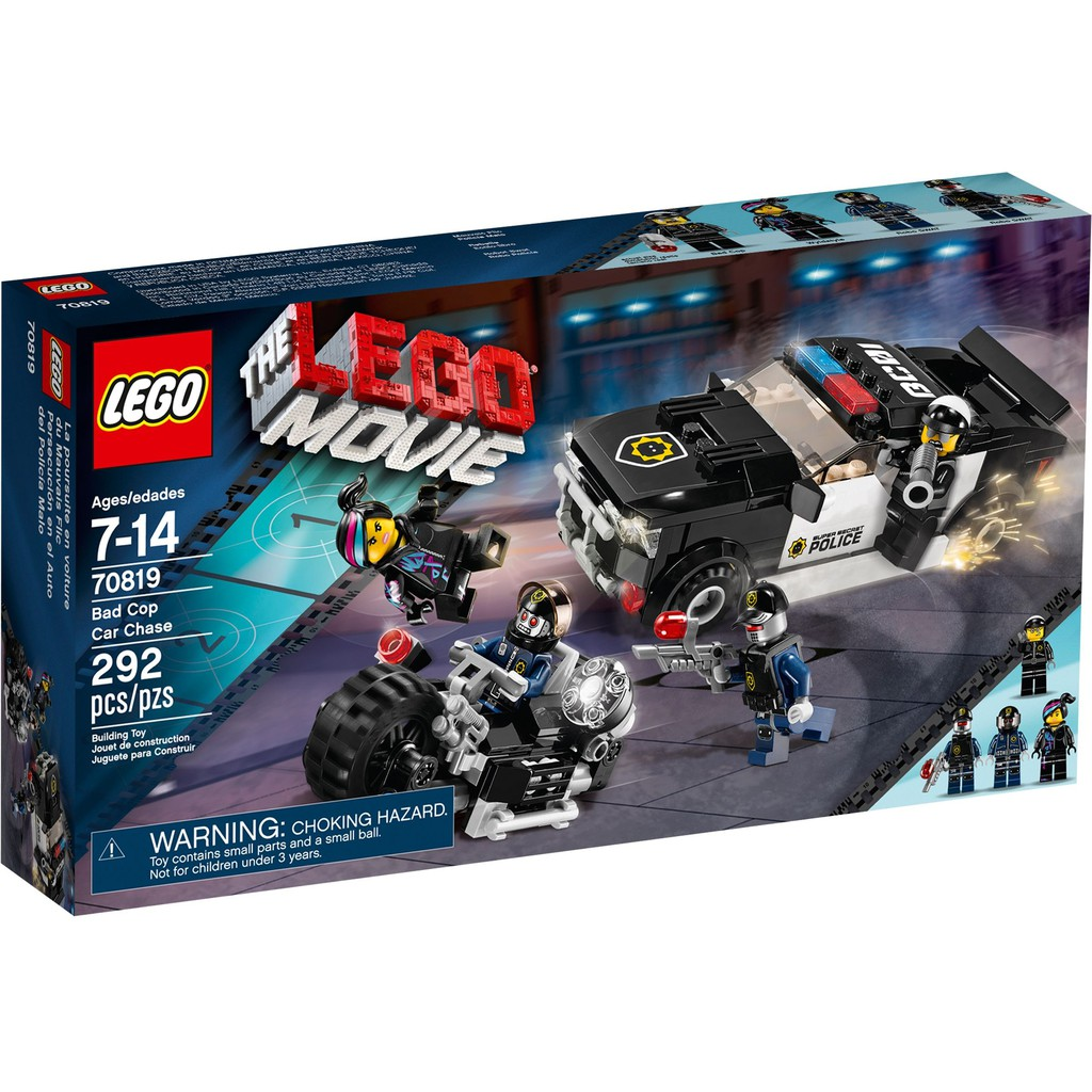 Movie Chase 70819 Car Bad Cop Lego dCoexB