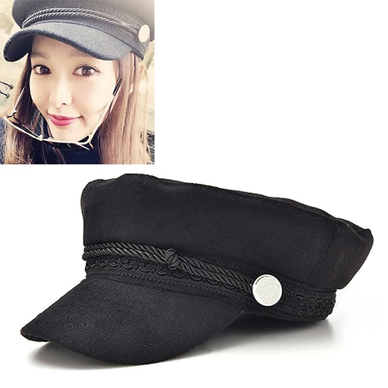 SW Ladies Womens Girls Wool Blend Baker Boy Peaked Cap Winter Newsboy Hat  SW  3e03f75c7df7