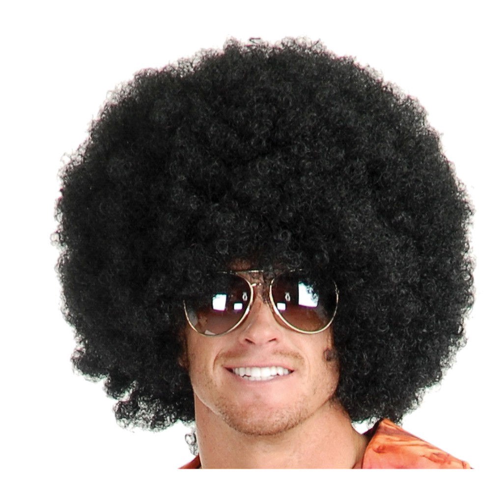 Afro men with Male Afro