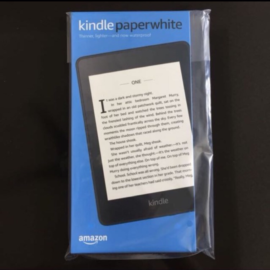 ($6 code) New sealed Kindle Paperwhite 4 8gb waterproof