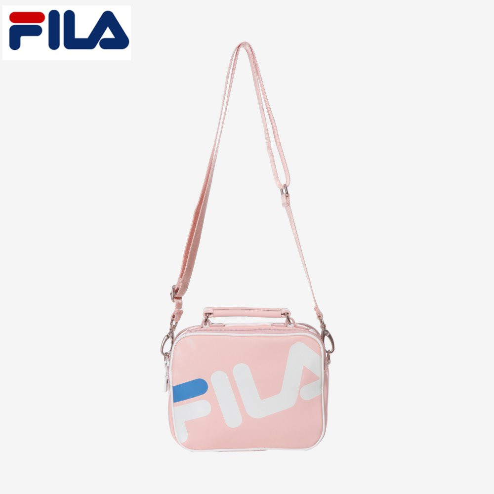 a178037d0457 FILA 2018 New Original Big Logo Mini Cross Bag FS3BCA5204F IPK Indi Pink