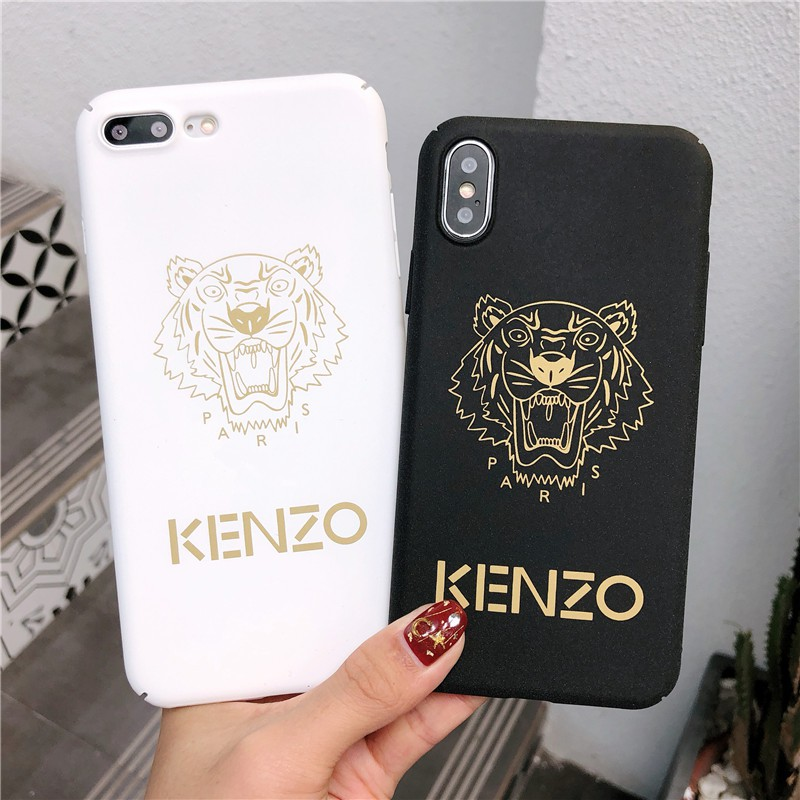 3dc23bdf KENZO Tiger Head Leather Phone Case iPhone X XS Max XR iPhone 8 7 6 6S Plus  | Shopee Singapore