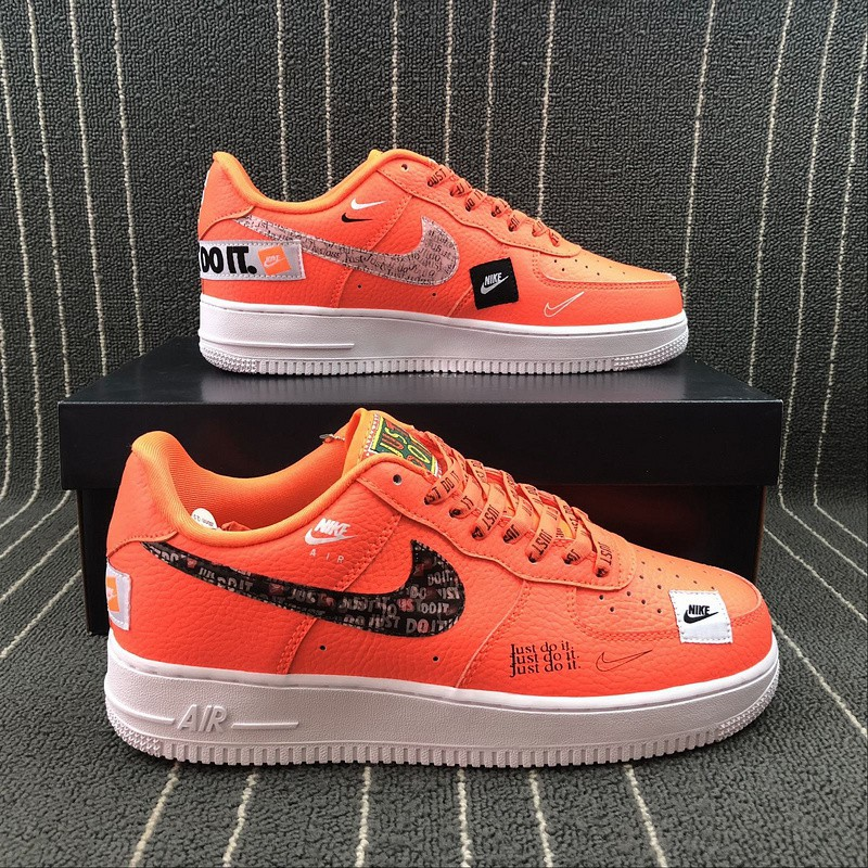 Nike Air Force 1 '07 PRM Just do it Air Force One Low Cut Casual Shoes AR77