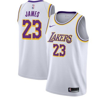 best service 0e604 2adc5 Nike NBA 18/19 L.A.Lakers NO.23 LeBron James Short-sleeved ...