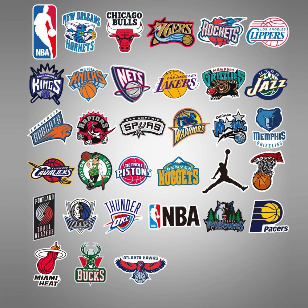 Adesivo Chicago Bulls Basket NBA sticker