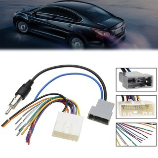 ✿Jacansi✿Car DVD Radio Install Stereo Wire Harness Cable ... on
